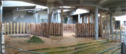Blick in die Innenanlage, 12. Juni 2009